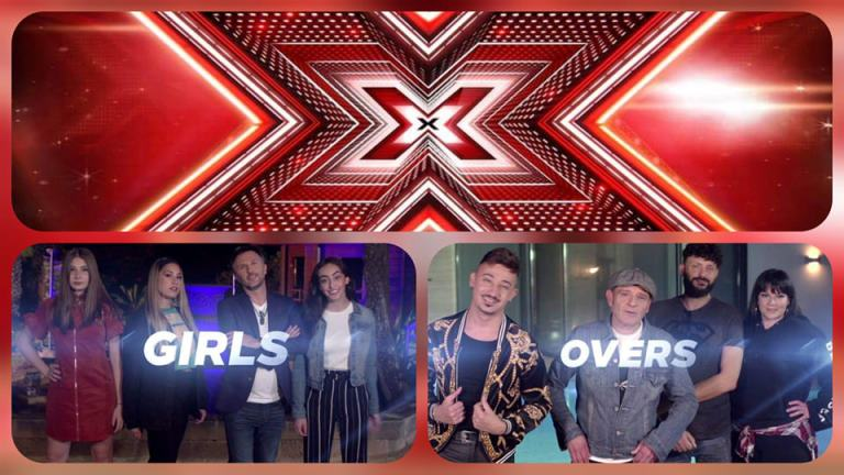 Malta: The three Girls and Overs who made it to the live shows of X-Factor