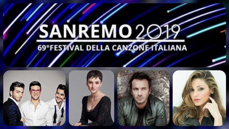 Italy: The final list of the 24 Sanremo Festival 2019 contestants