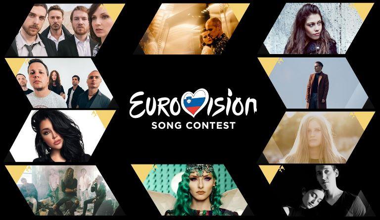 Slovenia: RTVSLO unveiled the 10 contestants of EMA 2019
