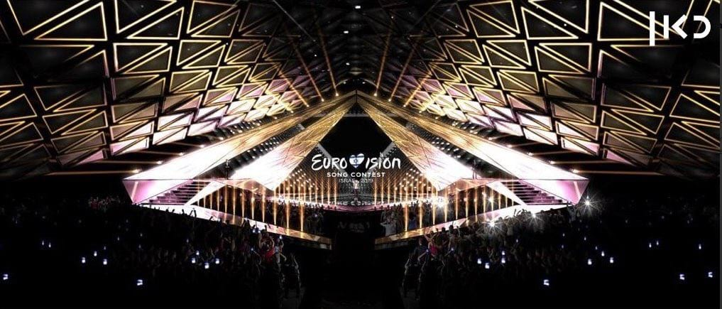 Eurovision 2019: KAN reveals the stage design