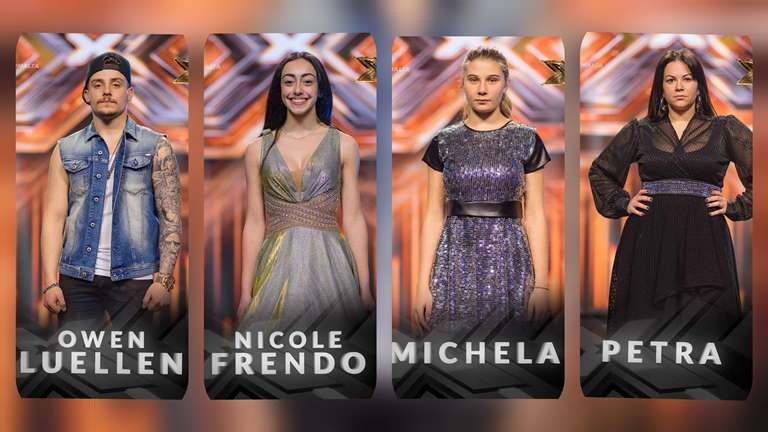 Malta: These are the four X-factor finalists; One of them will go to Tel Aviv