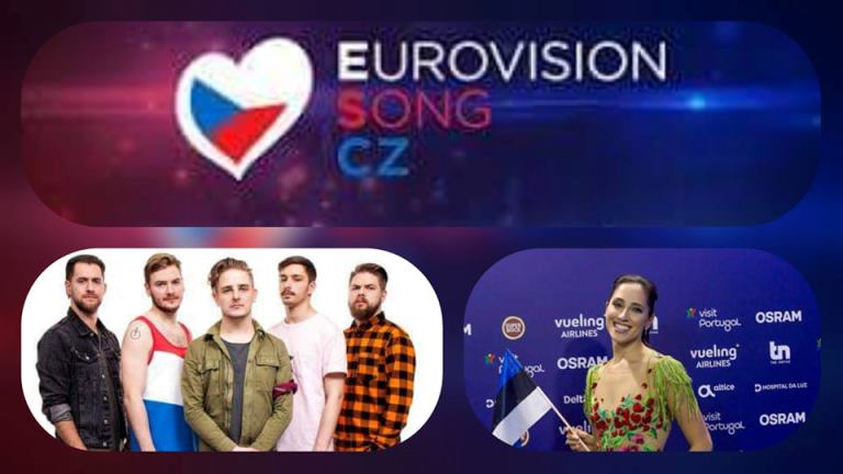 Czech Republic: The International jury's 5th and 6th set of 12 points are in