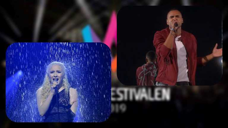 Sweden: Melodifestivalen 2019 First Semi final results