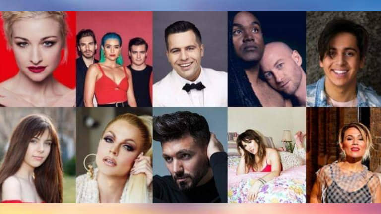 "Australia: Listen to all the competing entries of ""Eurovision: Australia decides 2019"""