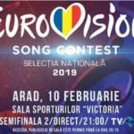 Romania: Tonight the second semi final of Selecția Națională 2019