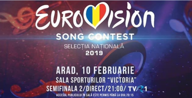Romania: Tonight the second semi final of Selecția Națională 2019