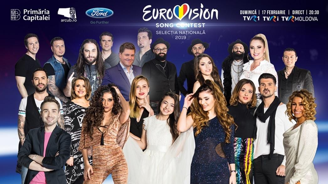 """Romania: Tonight the Final of """"Selecția Națională 2019"""""""