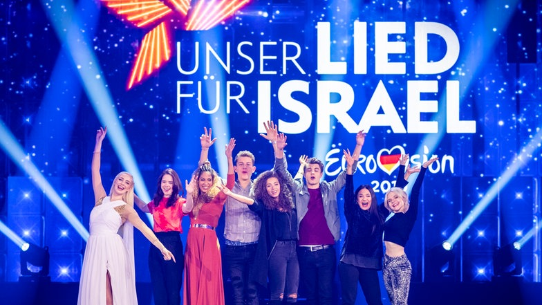 "Germany: ""Unser Lied Für Israel"" national final songs released"