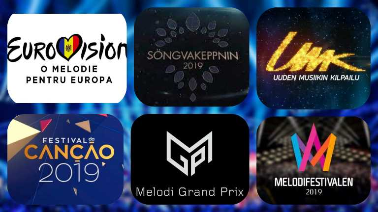 Tonight: Six more Eurovision 2019 national selection shows to take place; Where to watch each one