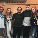 United Kingdom: These are the 5 backing vocalists for Michael Rice