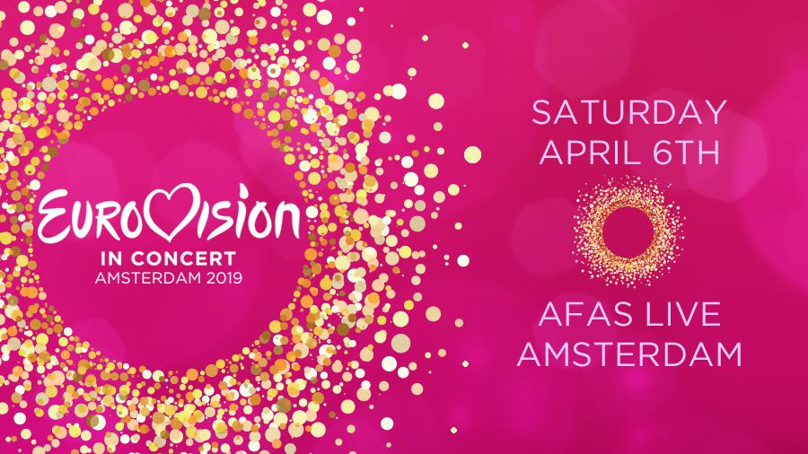 Tonight: Eurovision in Concert 2019 to take place in Amsterdam