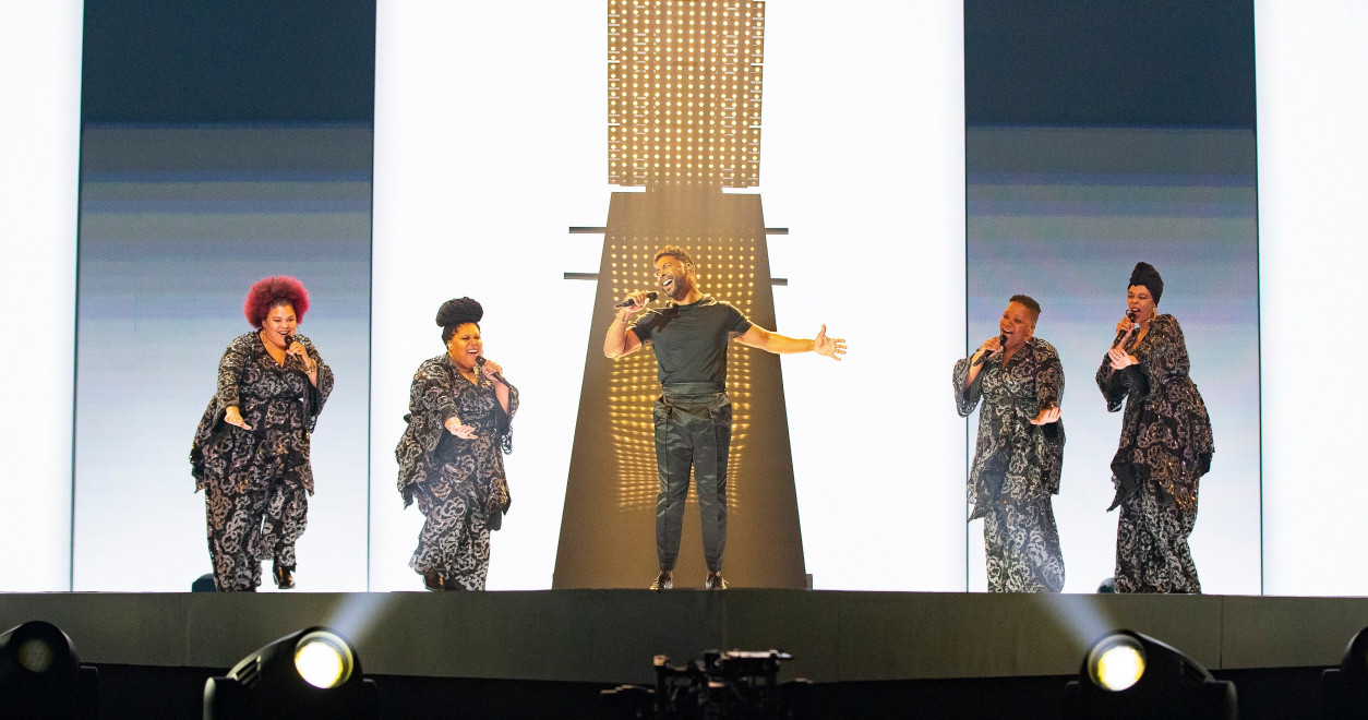 Tel Aviv Rehearsals Day 3: Sweden with John Lundvik closes today's rehearsals