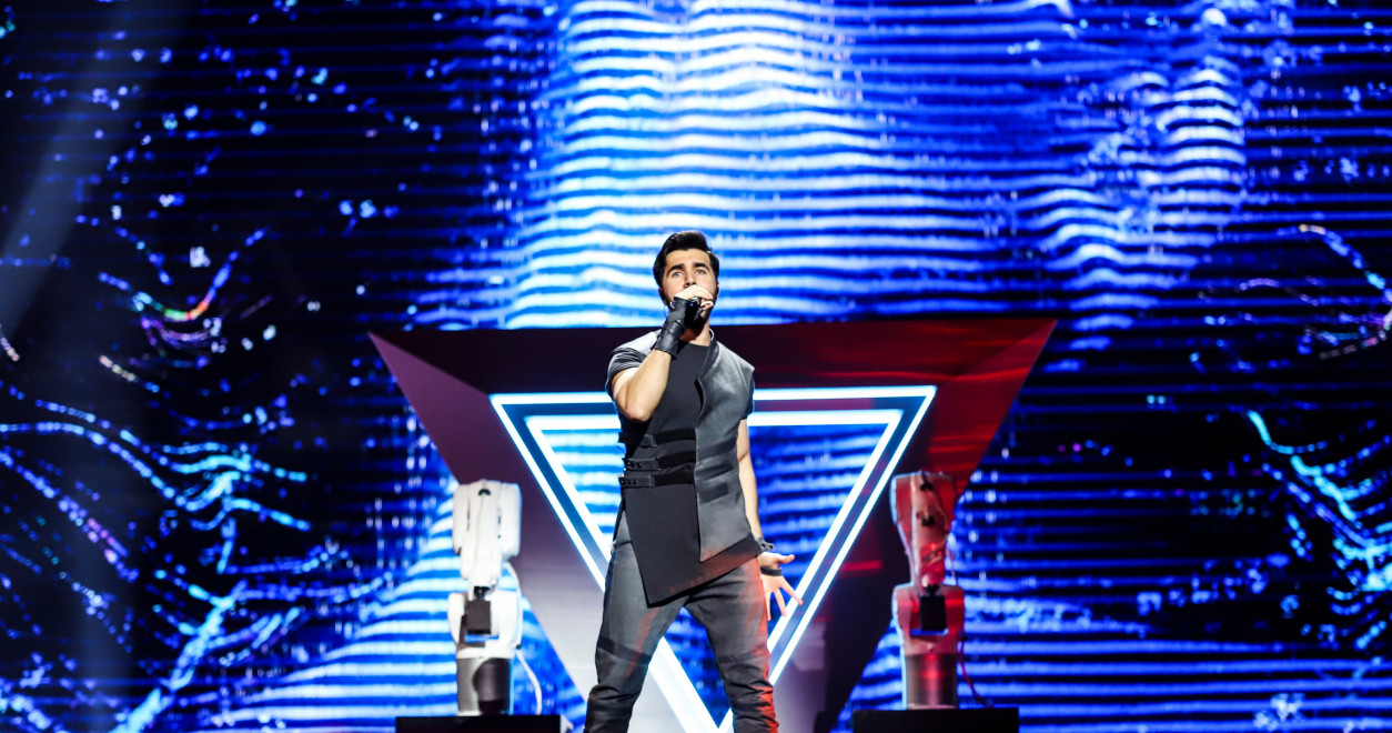 Tel Aviv rehearsals Day 4: Chingiz from Azerbaijan closes the fourth day of rehearsals