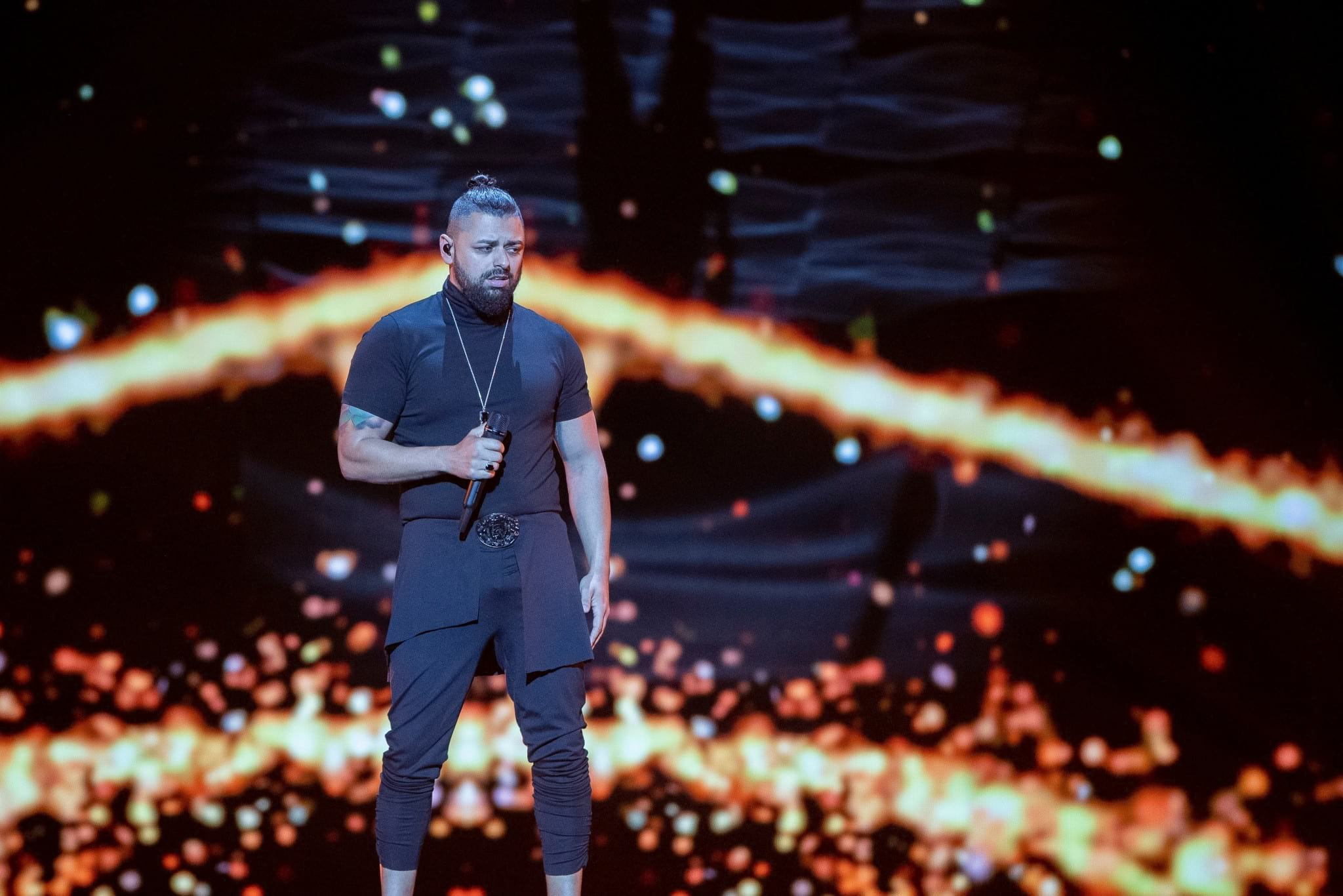 Hungary: Returning act Joci Pápai makes his first rehearsal