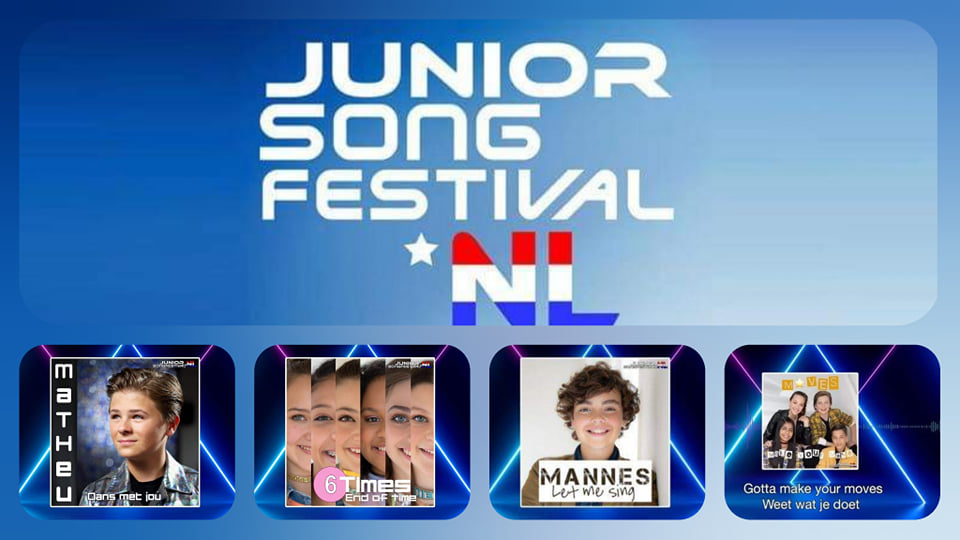 The Netherlands JESC 2019: Junior Songfestival 2019 songs unveiled