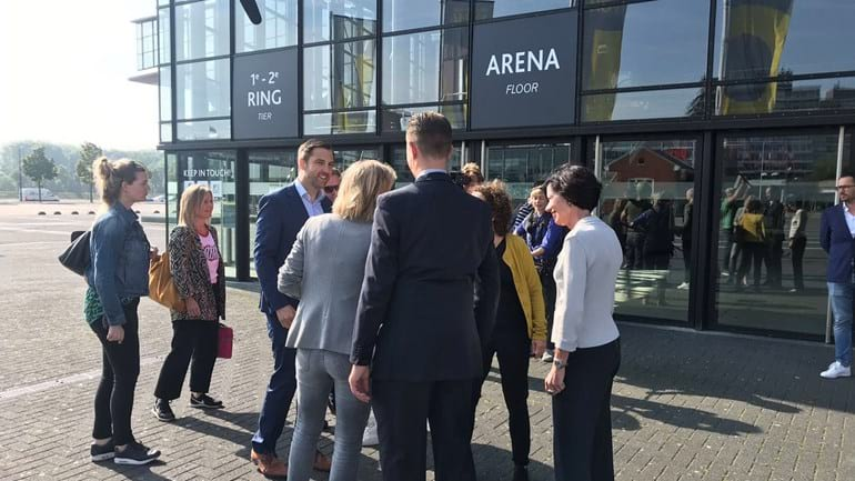 Eurovision 2020: Dutch broadcasters' officials visit Rotterdam to assess potential venue and infrastructure