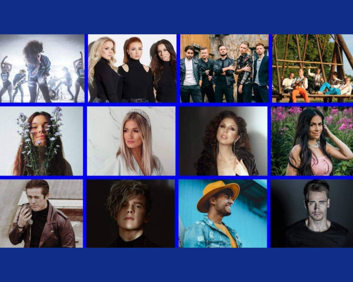 Estonia: First 12 Eesti Laul 2020 contestants unveiled