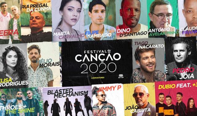 Portugal: RTP reveals Festival da Cançao 2020 composers and the shows' dates