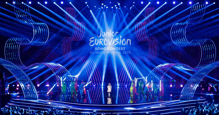 Today: The Junior Eurovision 2019 final show live from Arena Gliwice in Poland