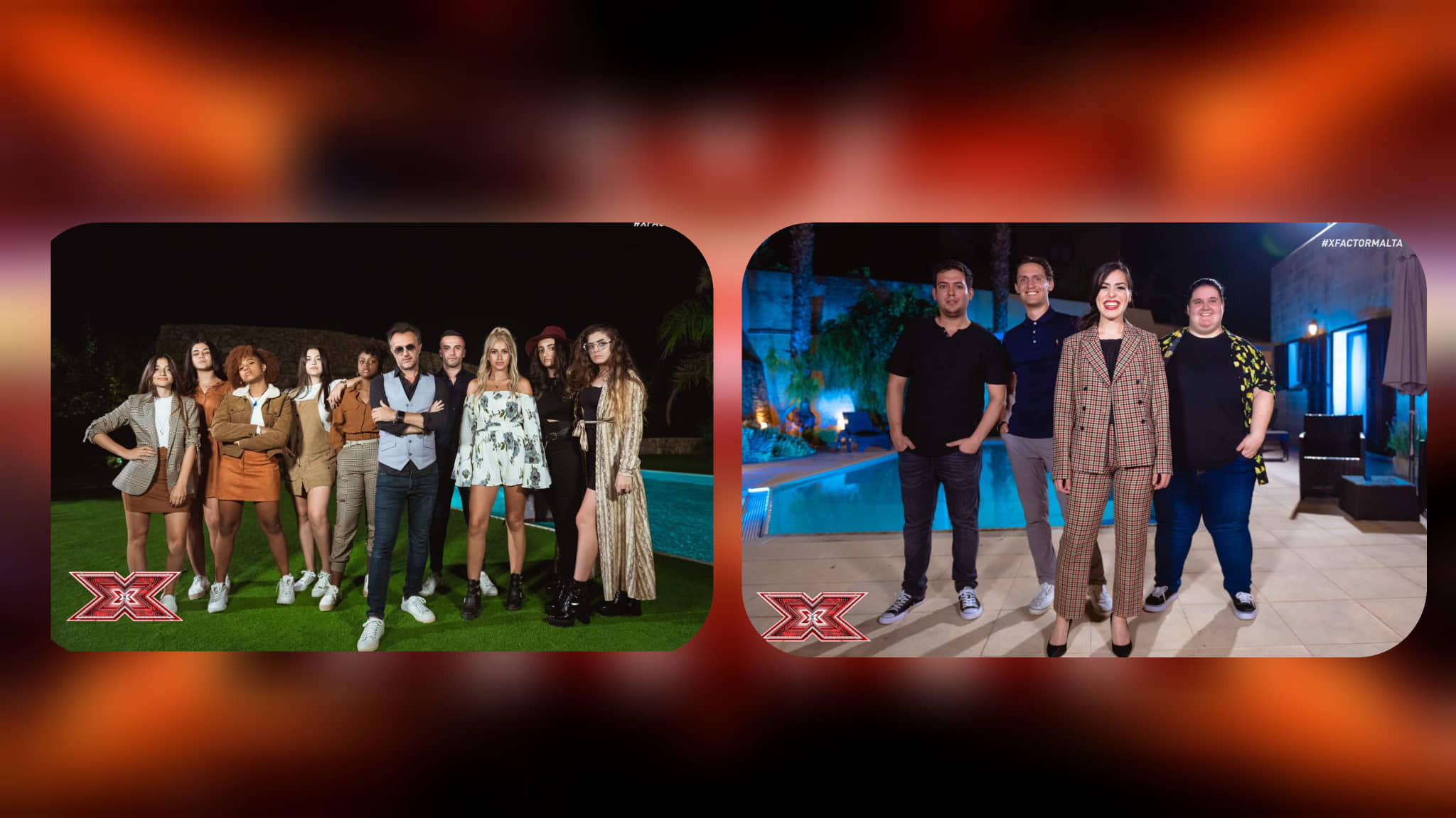 Malta: The Groups and Overs that continue to the Live shows after the Judges' Houses on X-factor Malta