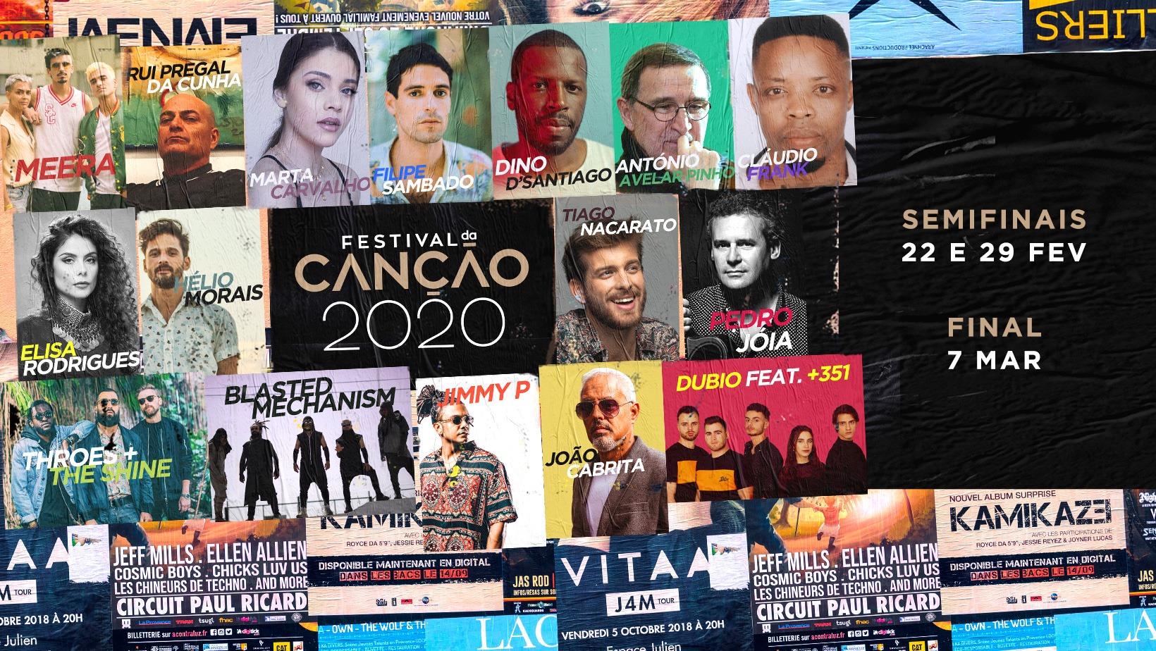 Portugal: Festival da Canção 2020 acts to be revealed on January 15