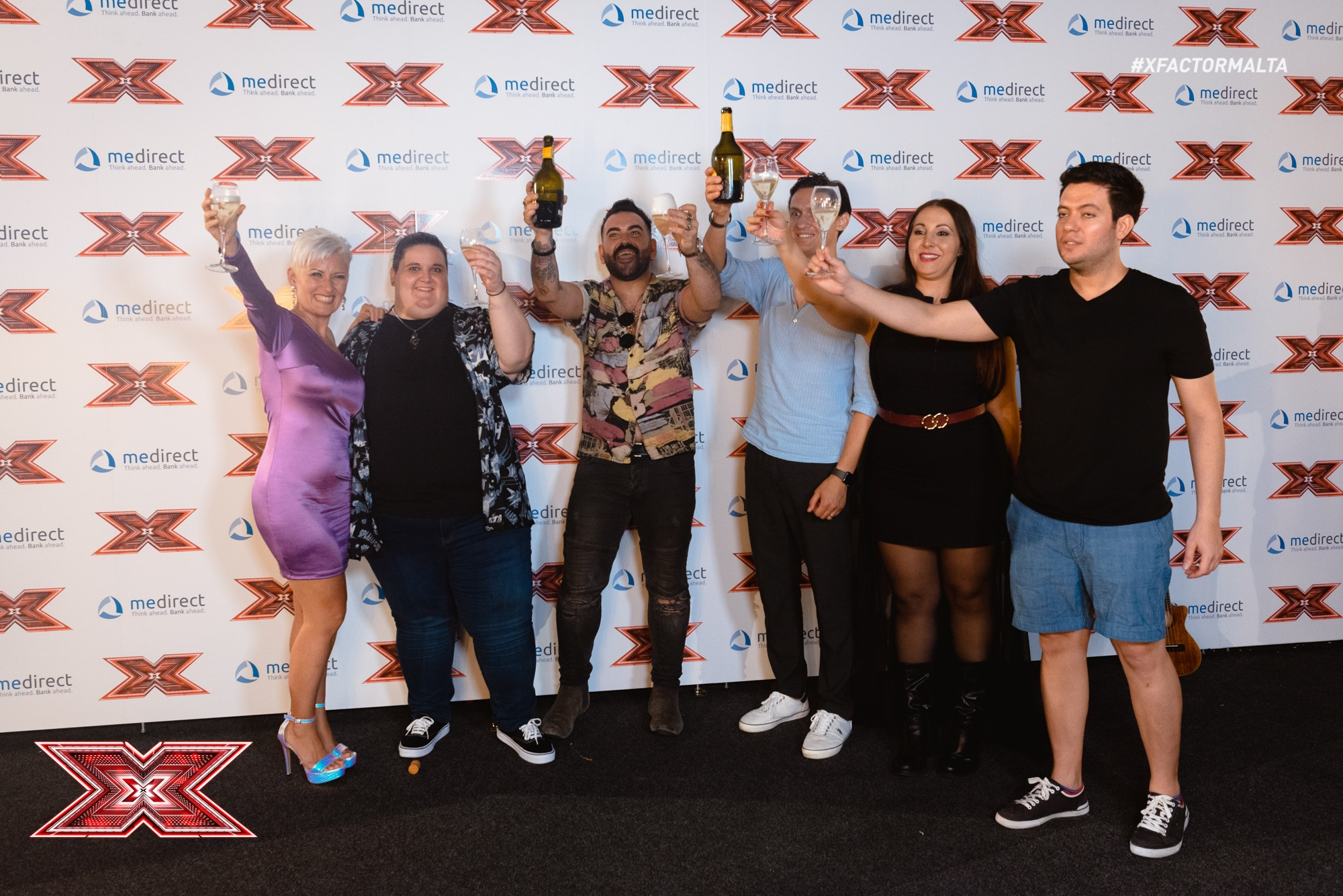 "Malta: The six ""Overs""(25+) that qualified to the Judges' Houses round on X-factor Malta"