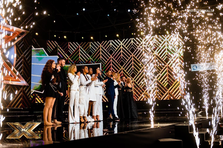 Malta: X-Factor Malta's third live show results