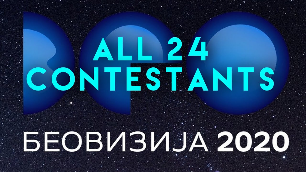 Serbia: RTS unveils Beovizija 2020 acts and song titles