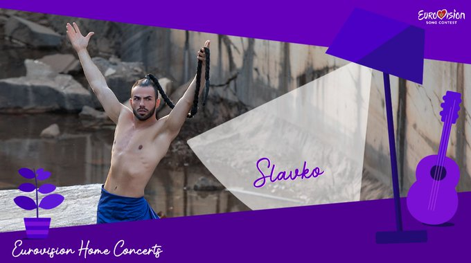 Slavko Kalezic the fourth act to take part in Eurovision Home Concerts