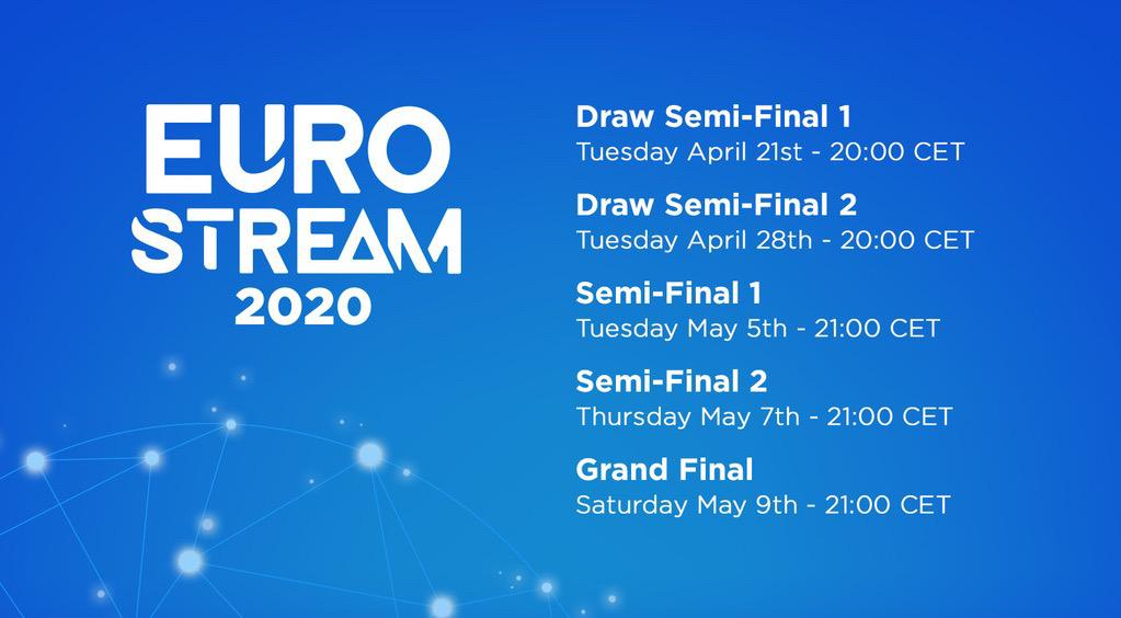Eurostream 2020: Fan media outlets to run an alternative online version of the Eurovision Song Contest
