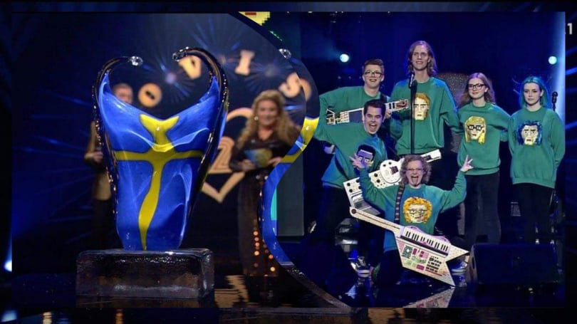 "Sweden: Iceland wins the atlternative Eurovision show of ""Sveriges 12:a"""