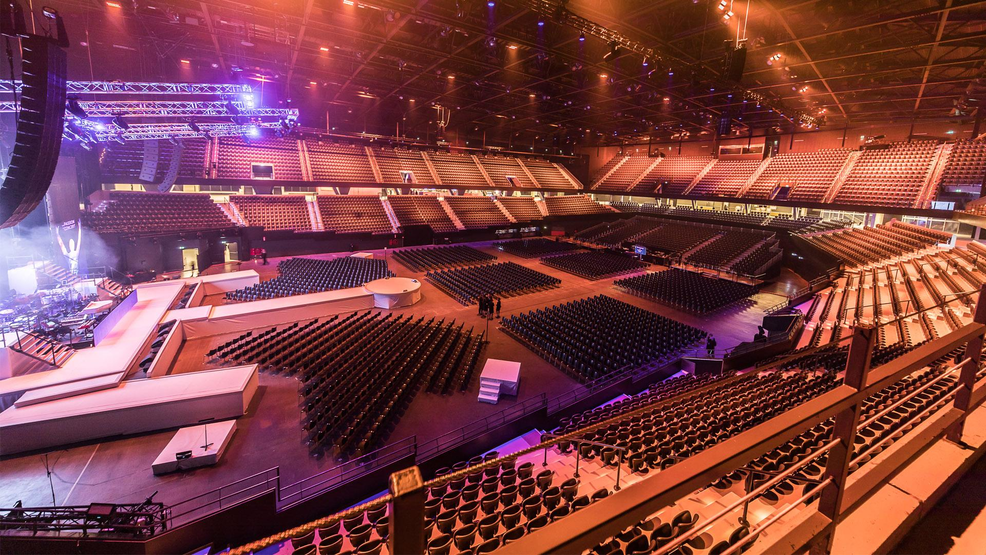 Rotterdam Ahoy: Events allowed to take place again at the Eurovision 2021 venue from July 1
