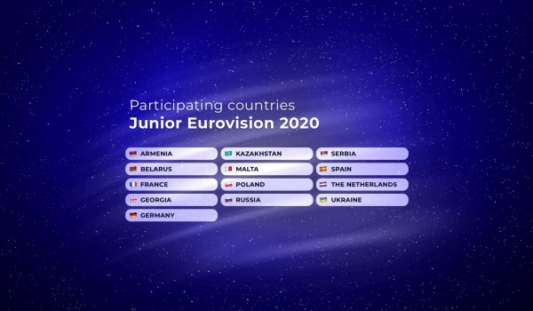 Junior Eurovision 2020: 13 countries to participate in Warsaw
