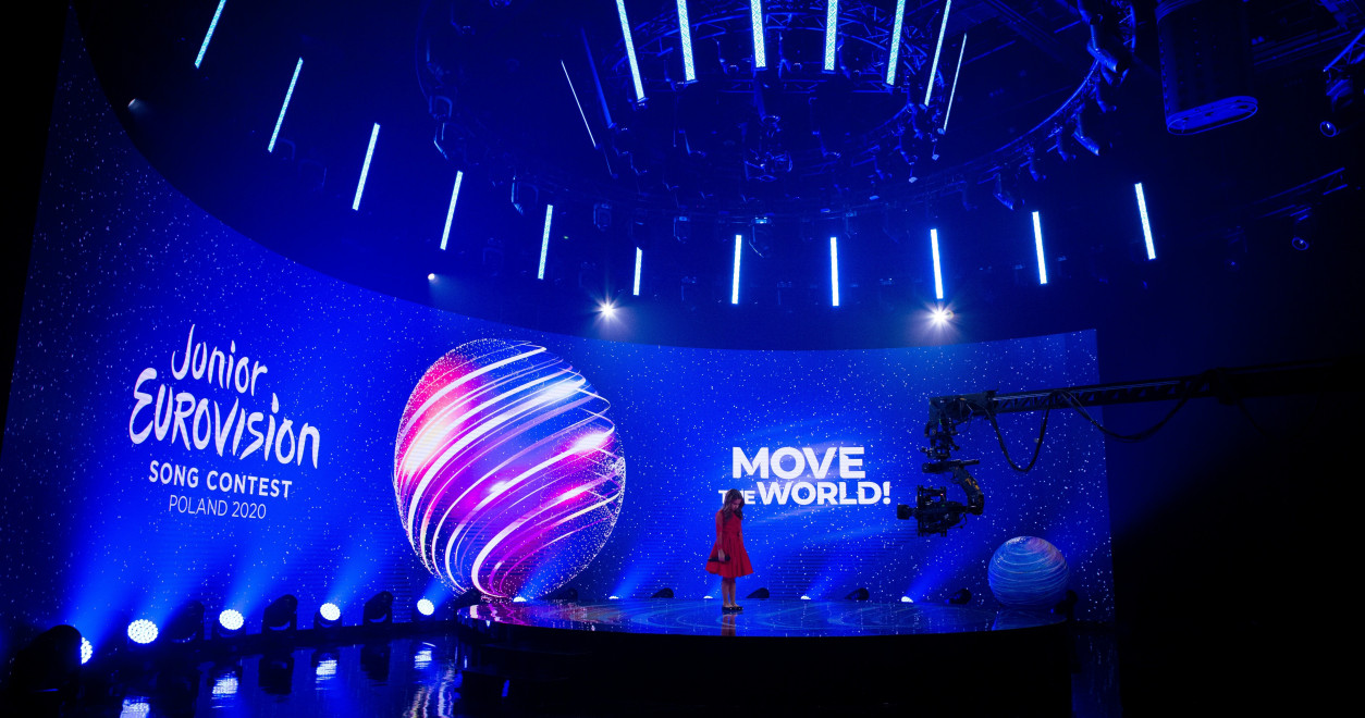 JESC 2020 first shots : Malta's Chanel Monseigneur records her performance of 'Chasing Sunsets'