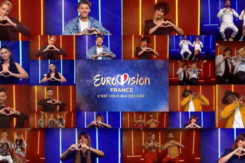 """France: The 12 contestants of """"Eurovision : C'est vous qui décidez"""" have gone public"""