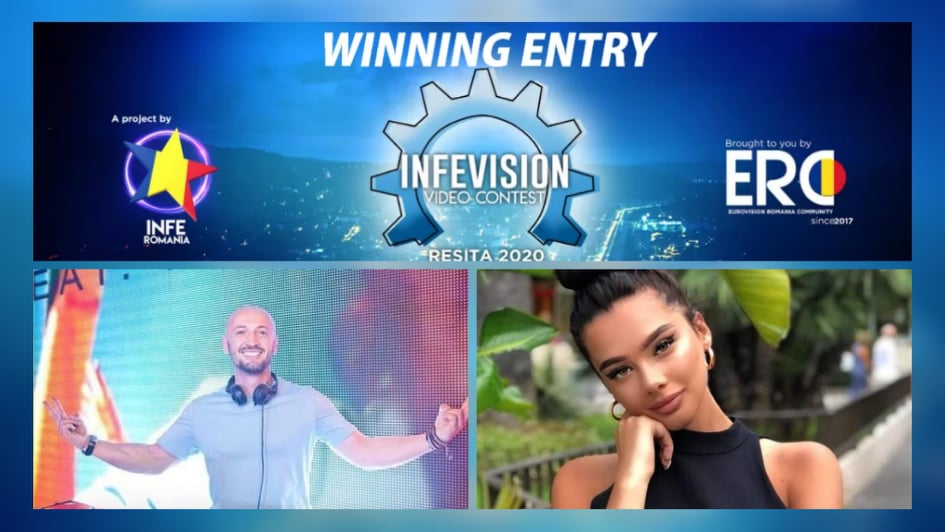 Moldova wins the INFEVision Video Contest 2020 with Sasha Lopez & Misha Miller's song 'Smoke Me'