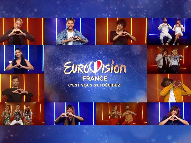 """France: Tonight the national final """"Eurovision France, c'est vous qui décidez"""" takes place"""