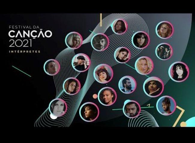 Portugal: RTP unveils the  Festival da Canção 2021 competing entries