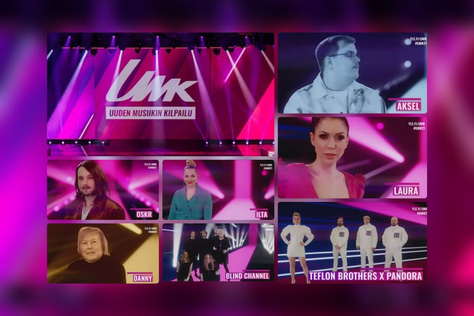 Finland: Tonight the UMK 2021 national final show