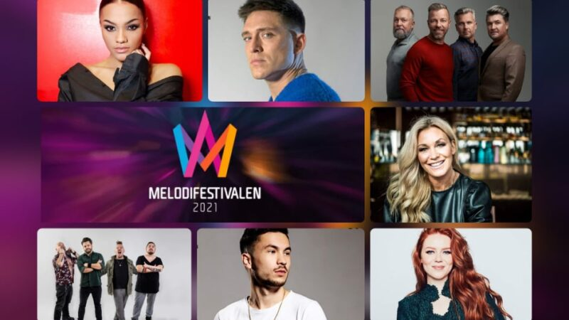 "Sweden: SVT releases snippets of the ""Melodifestivalen 2021"" 1st Semi-Final entries"