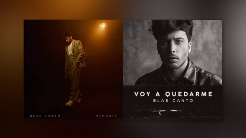 "Spain: ""Memoria"" and ""Voy a quedarme"" are Blas Cantó's potential Eurovision 2021 entries ."