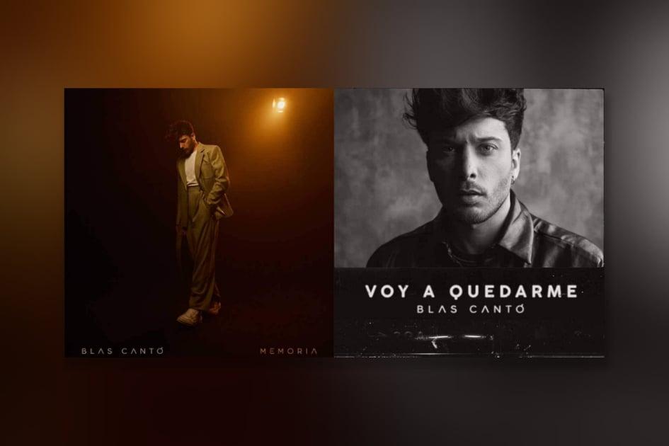 "Spain: ""Memoria"" and ""Voy a quedarme"" are Blas Cantó's potential Eurovision 2021 entries ."