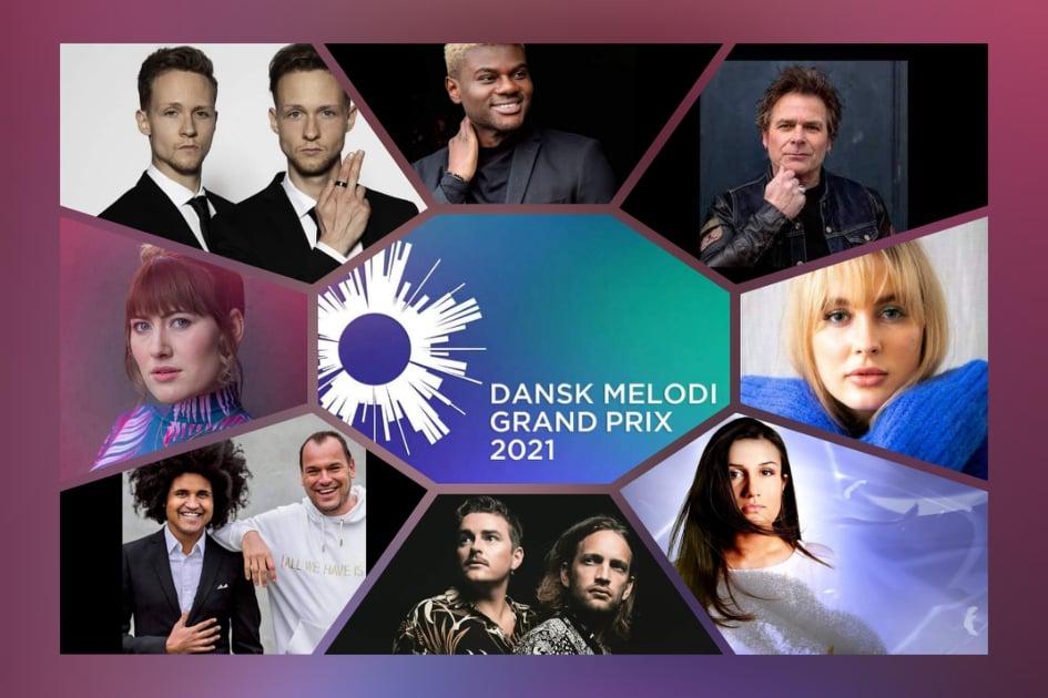 Denmark: DR reveals the Dansk Melodi Grand Prix 2021 contestants