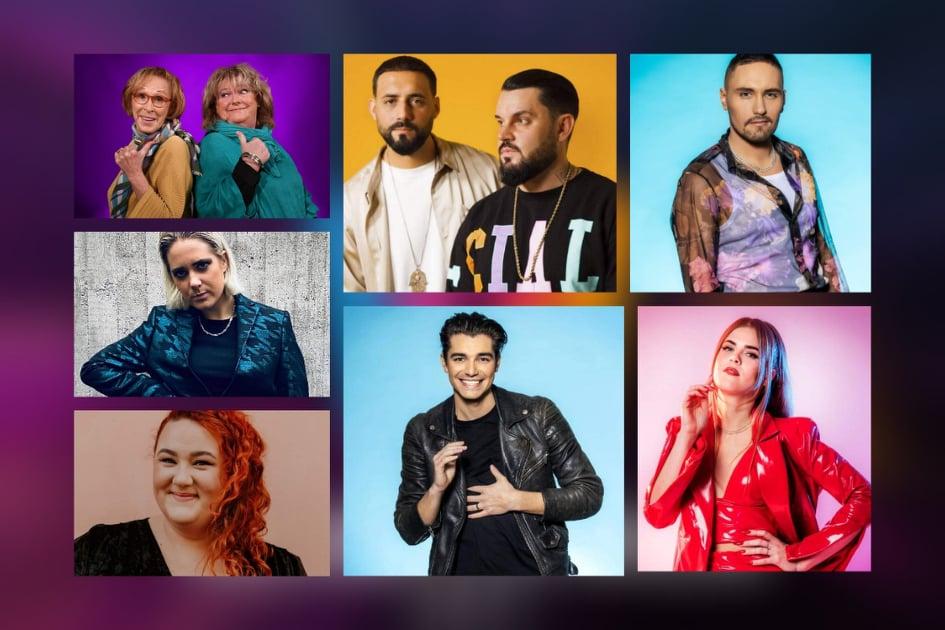 Sweden: Tonight the Melodifestivalen 2021 second semi final show