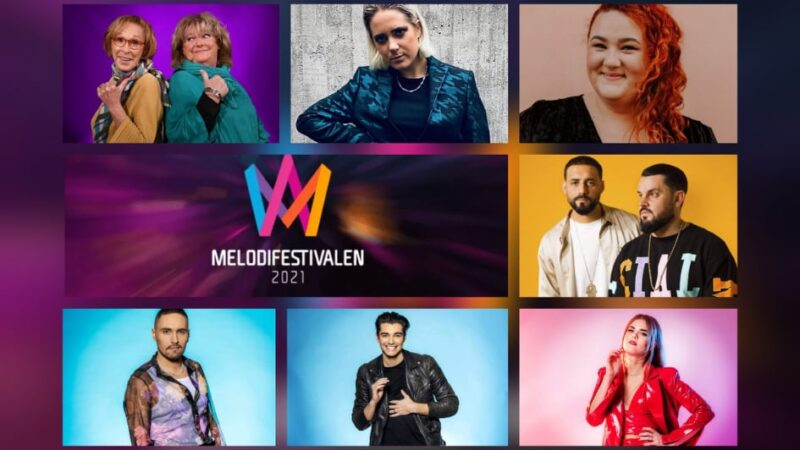 "Sweden: SVT releases snippets of the ""Melodifestivalen 2021"" Second Semi-Final entries"
