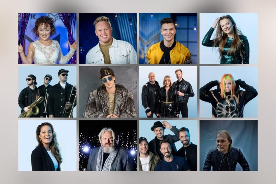 Norway: Tonight the Melodi Grand Prix 2021 Grand final show