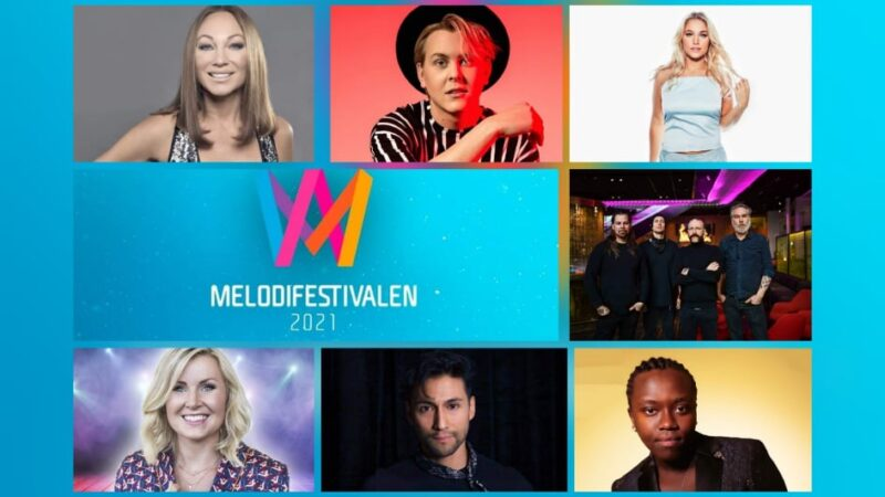 "Sweden: SVT releases snippets of the ""Melodifestivalen 2021"" Third Semi-Final entries"