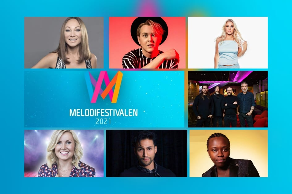 """Sweden: SVT releases snippets of the """"Melodifestivalen 2021"""" Third Semi-Final entries"""