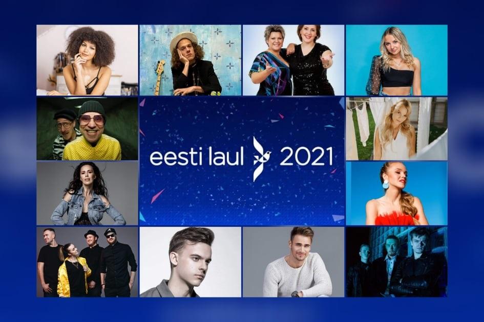 Estonia: Tonight the 2nd semi final show of Eesti Laul 2021