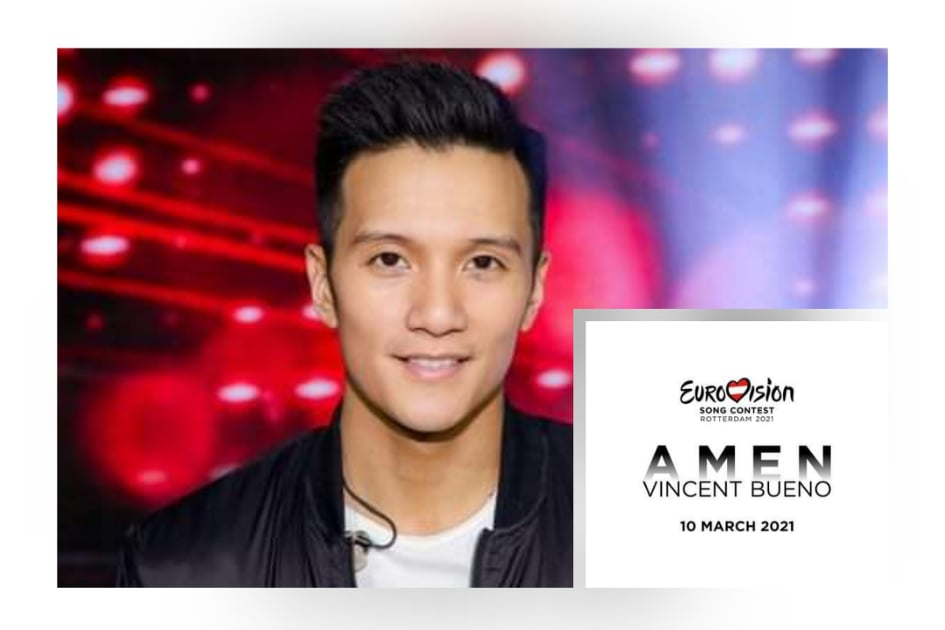 """Austria: Vincent Bueno to perform the song """"Amen"""" at Eurovision 2021"""